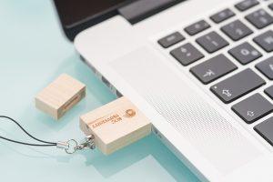 Lazer Baskı USB
